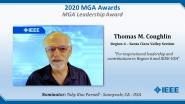 Thomas M. Coughlin - IEEE MGA Leadership Award