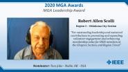 Robert Allen Scolli - IEEE MGA Leadership Award