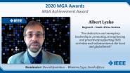 Albert Lysko - IEEE MGA Achievement Award