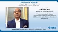Amit Kumar - IEEE MGA Achievement Award