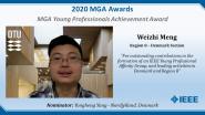 Weizhi Meng - IEEE MGA Young Professionals Achievement Award