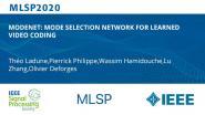 MODENET: MODE SELECTION NETWORK FOR LEARNED VIDEO CODING