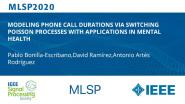 MODELING PHONE CALL DURATIONS VIA SWITCHING POISSON PROCESSES WITH APPLICATIONS IN MENTAL HEALTH