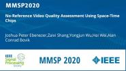 No-Reference Video Quality Assessment Using Space-Time Chips