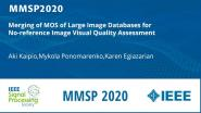 Merging of MOS of Large Image Databases for No-reference Image Visual Quality Assessment