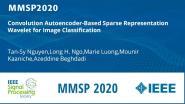 Convolution Autoencoder-Based Sparse Representation Wavelet for Image Classification