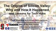 The Origins of Silicon Valley: Characteristics of a Startup Environment