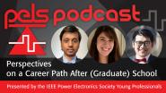 PELS Podcast Episode 11 - Perspectives on a Career Path After (Graduate) School