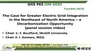 2020 PES GM 8/5 Panel Video: Deep Decarbonization in Northeastern North America: Hydropower and the Value of Electricity Market Integration