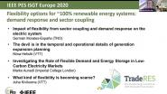 2020 PES ISGT Europe 10/28 Panel Video: Flexibility Options for 100% Renewable Energy Systems: Demand Response and Sector Coupling