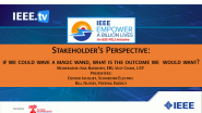 Stakeholder's Perspective:  If We Could Wave a Magic Wand, What is the Outcome We  Would Want? - 2021 Virtual Energy Access Workshop and EBL-2