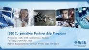 IEEE Central Texas Section - IEEE Corporate Partnership Program Webinar