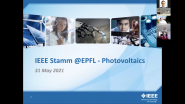 Photovoltaics - IEEE Stamm @EPFL - May 2021