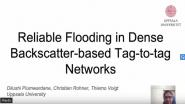 [Poster Abstract] Reliable Flooding in Dense Backscatter Based Tag to Tag Networks
