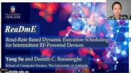 ReaDmE: Read-Rate Based Dynamic Execution Scheduling for Intermittent RF-Powered Devices