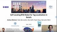 Self Locating RFID Robot for Tag Localization in Retails