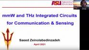 Keynote: mmW and THz Integrated Circuits for Sensing and Communication