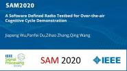 A Software Defined Radio Testbed for Over-the-air Cognitive Cycle Demonstration