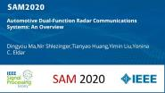 Automotive Dual-Function Radar Communications Systems: An Overview