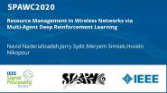 Resource Management in Wireless Networks via Multi-Agent Deep Reinforcement Learning