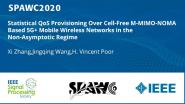 Statistical QoS Provisioning Over Cell-Free M-MIMO-NOMA Based 5G+ Mobile Wireless Networks in the Non-Asymptotic Regime