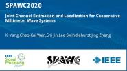 Joint Channel Estimation and Localization for Cooperative Millimeter Wave Systems