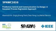 Predictive Control and Communication Co-Design: A Gaussian Process Regression Approach