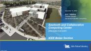 Sawtooth & Collaborative Computing Center