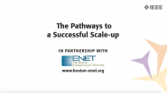 The Pathways to a Successful 'Scale-Up