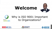 Why is ISO 9001 important to organizations?