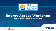 2021 Virtual Workshop on Energy Access and Empower a Billion Lives II