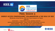 Energy Access Stakeholders'  Collaboration and the Role of IEEE - 2021 Virtual Energy Access Workshop and EBL-2