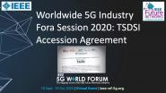 5G World Forum 2020: Multilateral MoU Signing-In Ceremony