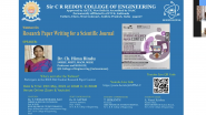 Webinar on Research Paper Writing for a Scientific Journal