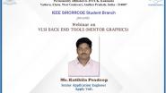 Webinar on VLSI BACK END TOOLS (MENTOR GRAPHICS)
