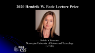 IEEE Hendrik W. Bode Lecture Prize