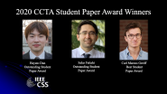 IEEE CCTA Student Paper Award Winners 2020