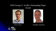 IEEE George S. Axelby Outstanding Paper Award