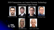 IEEE Transactions on Control Systems Technology Outstanding Paper Award
