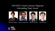 IEEE Control Systems Magazine Outstanding Paper Award