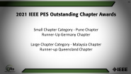 IEEE PES Outstanding Chapter Awards-PES Awards Ceremony 2021