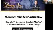 If Disney Ran Your Business... Secrets to Lead and Build Your Own Successful Disney-like Customer Focused Winning Team Culture -WIE ILC 2021