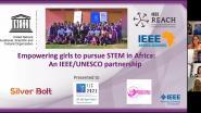 Empowering Girls to Pursue STEM in Africa: An IEEE/UNESCO Partnership