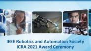 ICRA 2021 Awards Ceremony