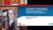 The Power of International Diversity: A Look at Cultural Perspectives & Their Impact on D&I Initiatives