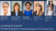 Looking Outward: the Role of Research in Advancing Equity in the Energy Sector (Panel) -WIE ILC 2021