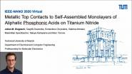 Metallic Top Contacts to Self-Assembled Monolayers of Aliphatic Phosphonic Acids on Titanium Nitride