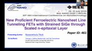 New Proficient Ferroelectric Nanosheet Line Tunneling FETs with Strained SiGe through Scaled N-Epitaxial Layer