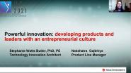 Powerful Innovation: developing products and leaders with an entrepreneurial culture -WIE ILC 2021