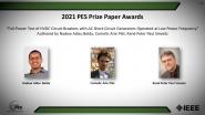 PES Prize Paper Awards-PES Awards Ceremony 2021